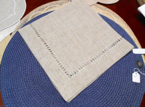 $17.99 Linen/burlap napkin with Monogram