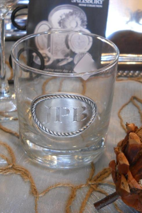 Monogrammed glasses collection with 1 products
