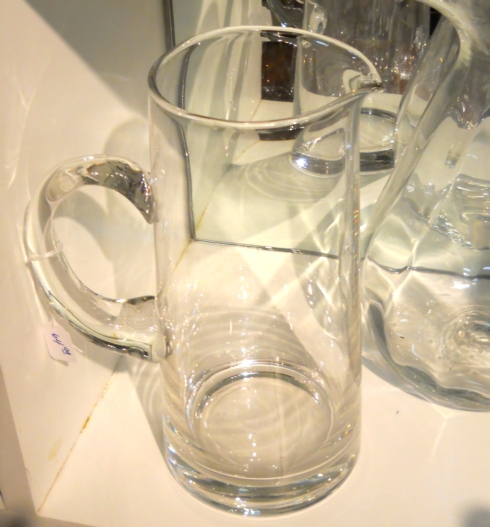 $64.99 Crystal Pitcher