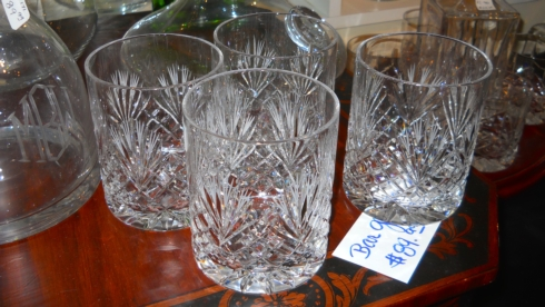 Set of 4 DOF Barglasses collection with 1 products