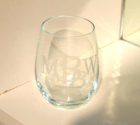 $74.99 Set of 4 Stemless Wine Glasses