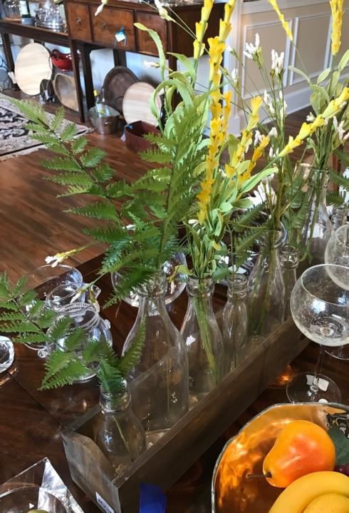 $89.99 Wooden vase holder by Mudpie