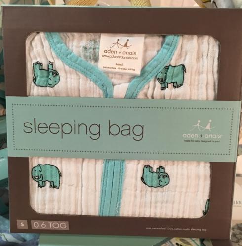 $39.99 Elephant Sleep Sack by Aden & Anais - S(0-6M)