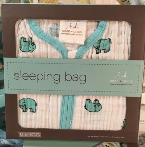$39.99 Elephant Sleep Sack by Aden & Anais - M(6-12M)