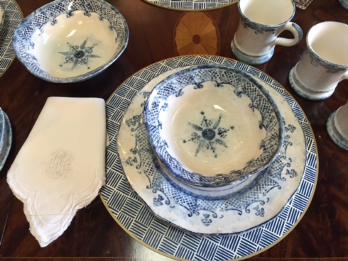$129.99 Set of 4 Round Placemats