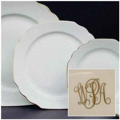 Pickard Monogrammed Salad collection with 1 products