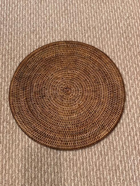 $33.99 Round Woven placemat