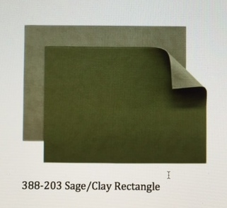 $15.99 Sage/Clay Placemat
