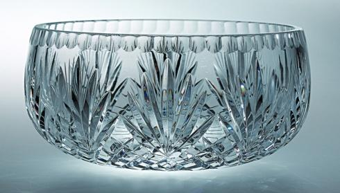 $179.00 Handcut Crystal Bowl