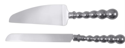 Pearled Cake Server Set collection with 1 products
