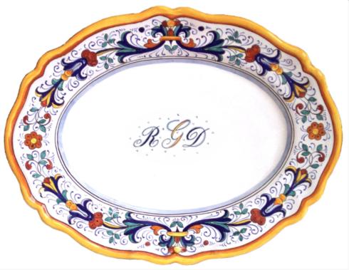 $258.00 Oval Platter