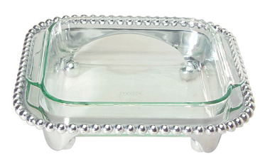 Pearled Square Casserole Caddy collection with 1 products