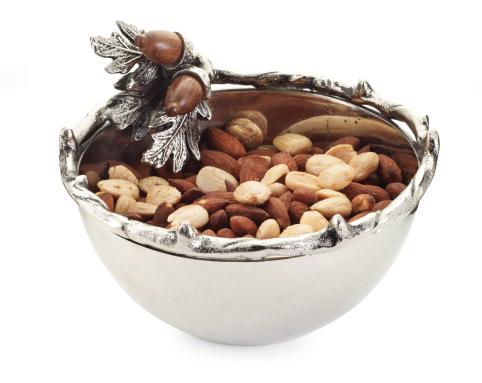 Mudpie   Metal Acorn Condiment Bowl $43.00