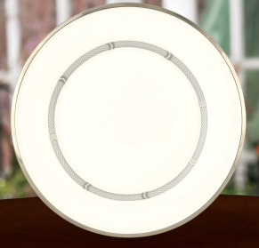 Solitaire White Accent Plate collection with 1 products