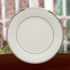 Solitaire White Salad Plate collection with 1 products