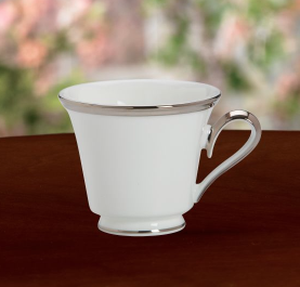 Solitaire White Cup and Saucer collection with 1 products