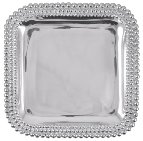 Triple Pearls Square Platter collection with 1 products