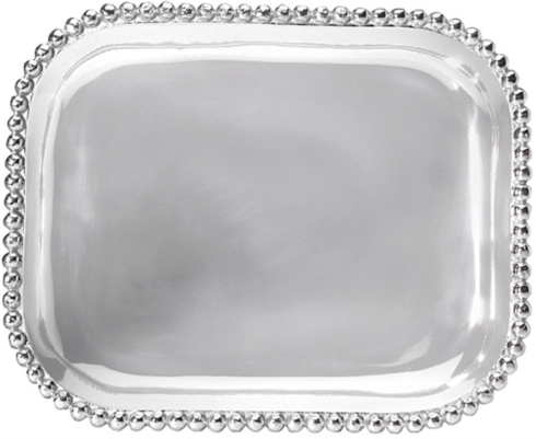Pearled Rectangular Platter collection with 1 products
