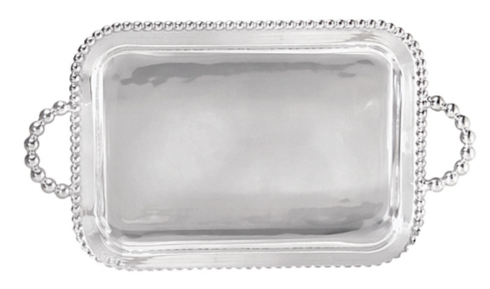 Pearled Service Tray collection with 1 products