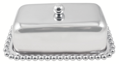 Pearled Covered Butter Dish collection with 1 products