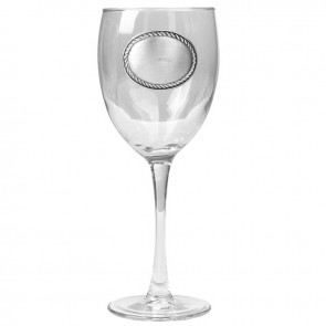Monogrammed wine glass collection with 1 products