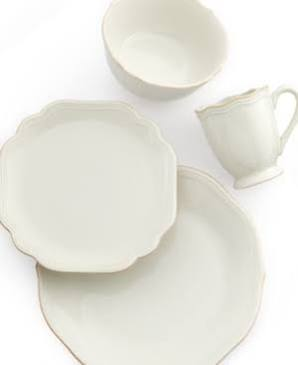French Perle Bead - Dinner plate collection with 1 products