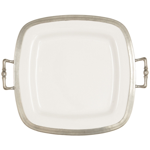 Tuscan Square Tray with Handles collection with 1 products