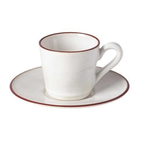$33.50 Tea Cup and Saucer 6 oz.