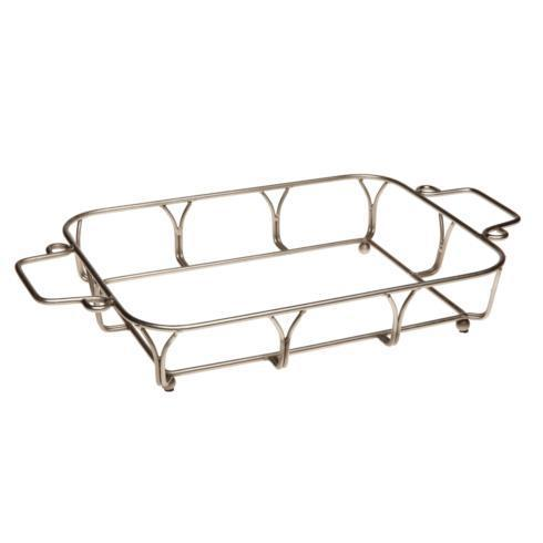 Casafina  Vintage Port - Cream Stand For Large Rectangular Baker $28.50