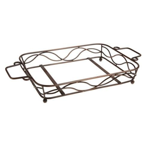 Casafina  Forum - White Stand For Large Rect. Baker $28.50