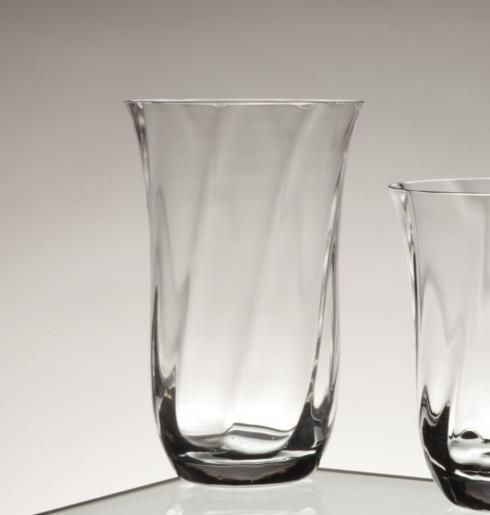 Casafina  Glassware Collection Tall Tumbler, Optic Swirl (6) $19.75