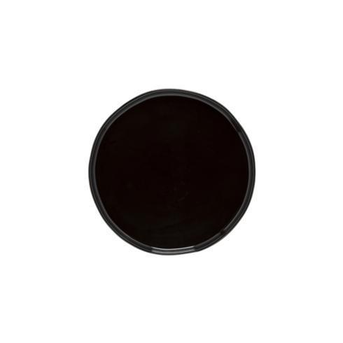 "Costa Nova  Lagoa Eco Gres - Black Salad/Dessert Plate 8"" $24.00"