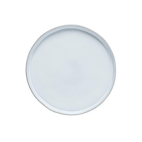 """Costa Nova  Lagoa Eco Gres - White Dinner Plate 11"""" $26.50"""
