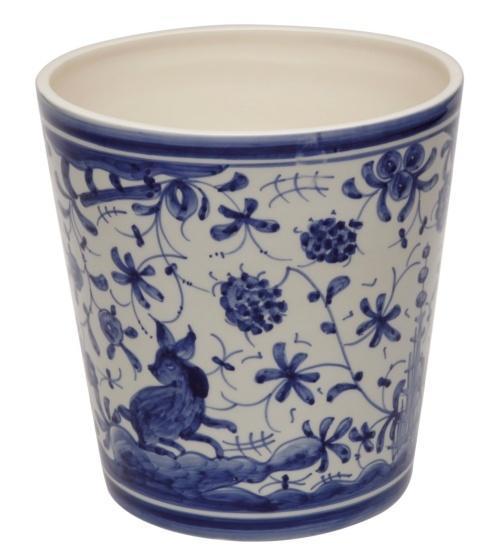 Casafina  Bath Collection - 17th Century Blue Wastebasket $71.50