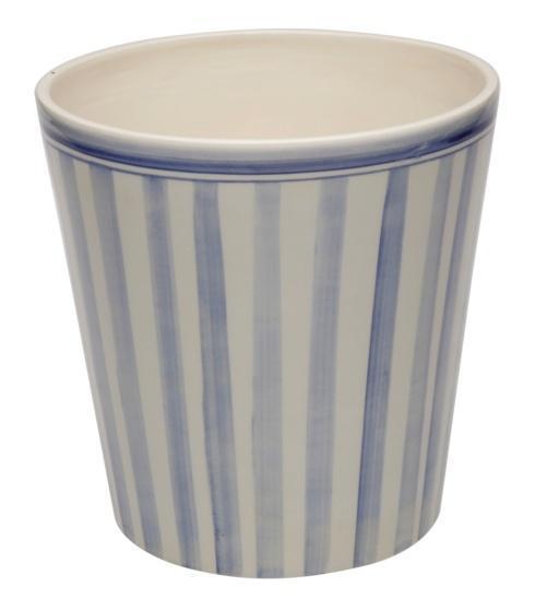 Casafina  Bath Collection - Costa Nova Blue Wastebasket $52.75
