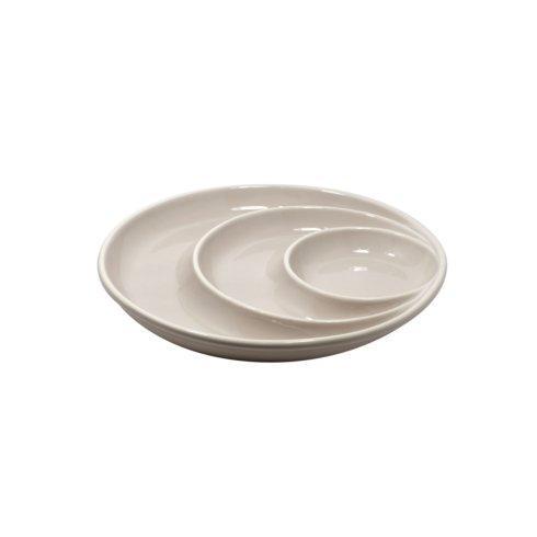 Casafina  Chip & Dip Round Chip & Dip, Gray $35.25