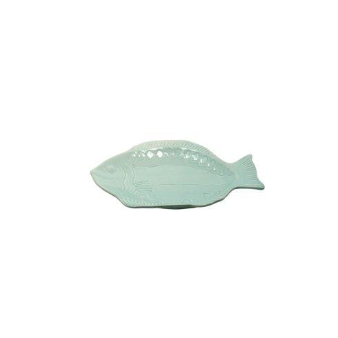 Casafina  Something's Fishy Small Fish Platter, Aqua $22.00