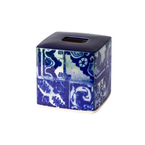 "Costa Nova  Lisboa Bath Boutique Tissue 6"" $56.50"