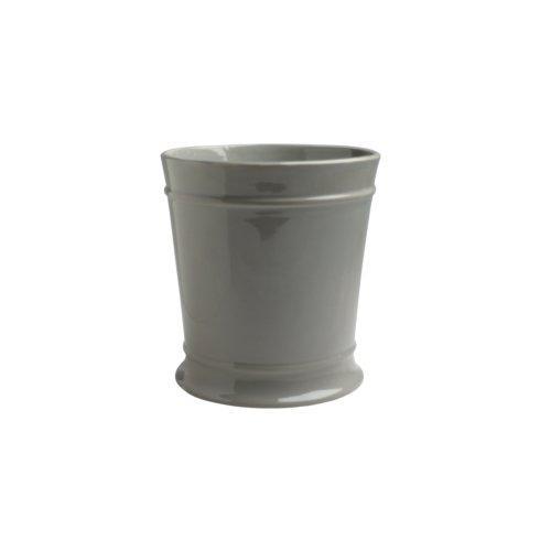 Casafina  Bath Collection - Lexington Gray Waste Basket, Gray $60.50