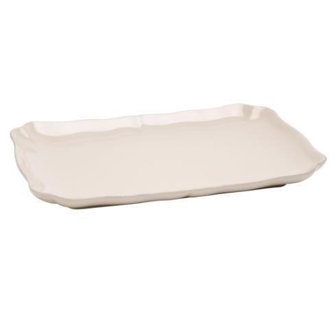 Casafina  Bistro - Linen Rectangular Platter $49.00