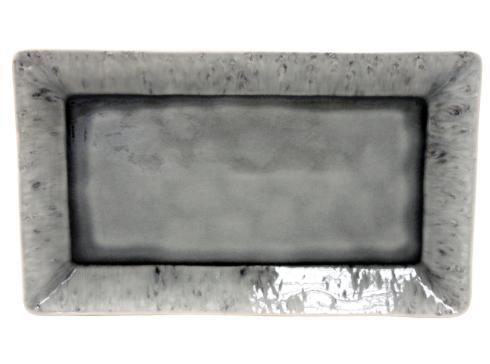 """Costa Nova  Madeira - Grey Rect. Tray 16"""" $81.00"""