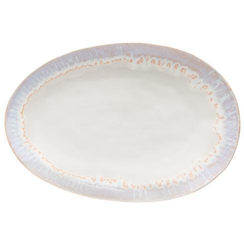 "Costa Nova  Brisa - Sal Oval Platter 16"" $92.50"