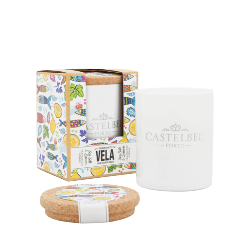 $36.25 Candle w/ Scented Bookmarker