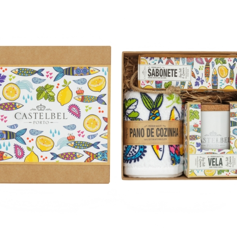 $61.50 Gift Set (Soap/Candle/Cloth/Bookmarker)