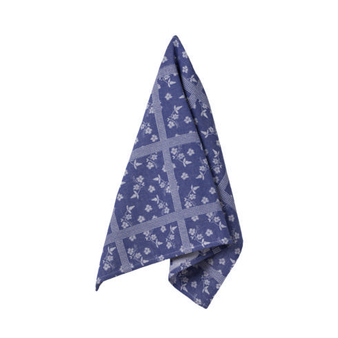 $17.50 Set 2 Kitchen Towels (Flowers - Blueberry)