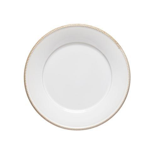 "Costa Nova  Luzia -  Cloud White Round Dinner Plate 11"" $27.50"