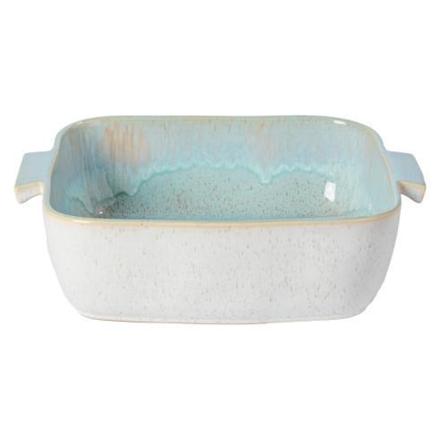 """Casafina  Eivissa - Sea Blue Sq. Baker 13"""" $79.00"""