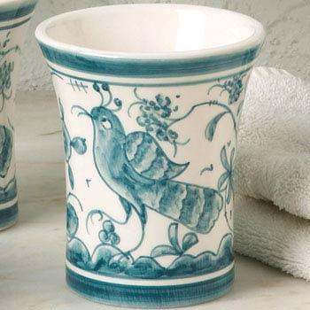 Casafina  Blue Bath - 17th Century Teal Tumbler $33.00