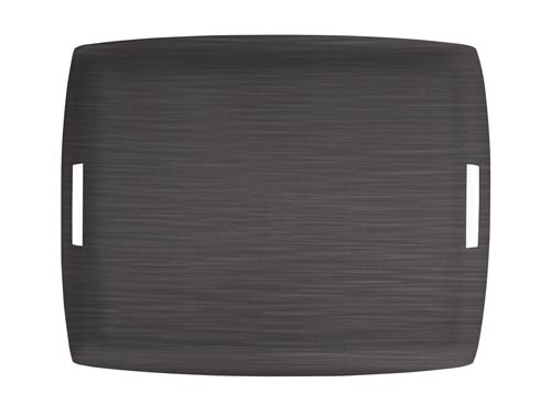 $189.00 Large Rect. Tray, Dk Gray