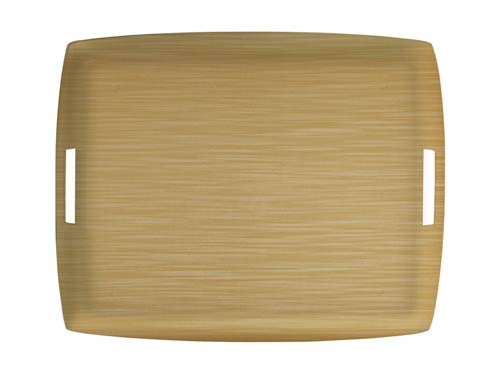 $189.00 Large Rect. Tray, Gold